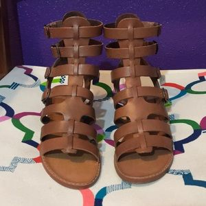 Chinese Laundry Leather Cognac Sandals
